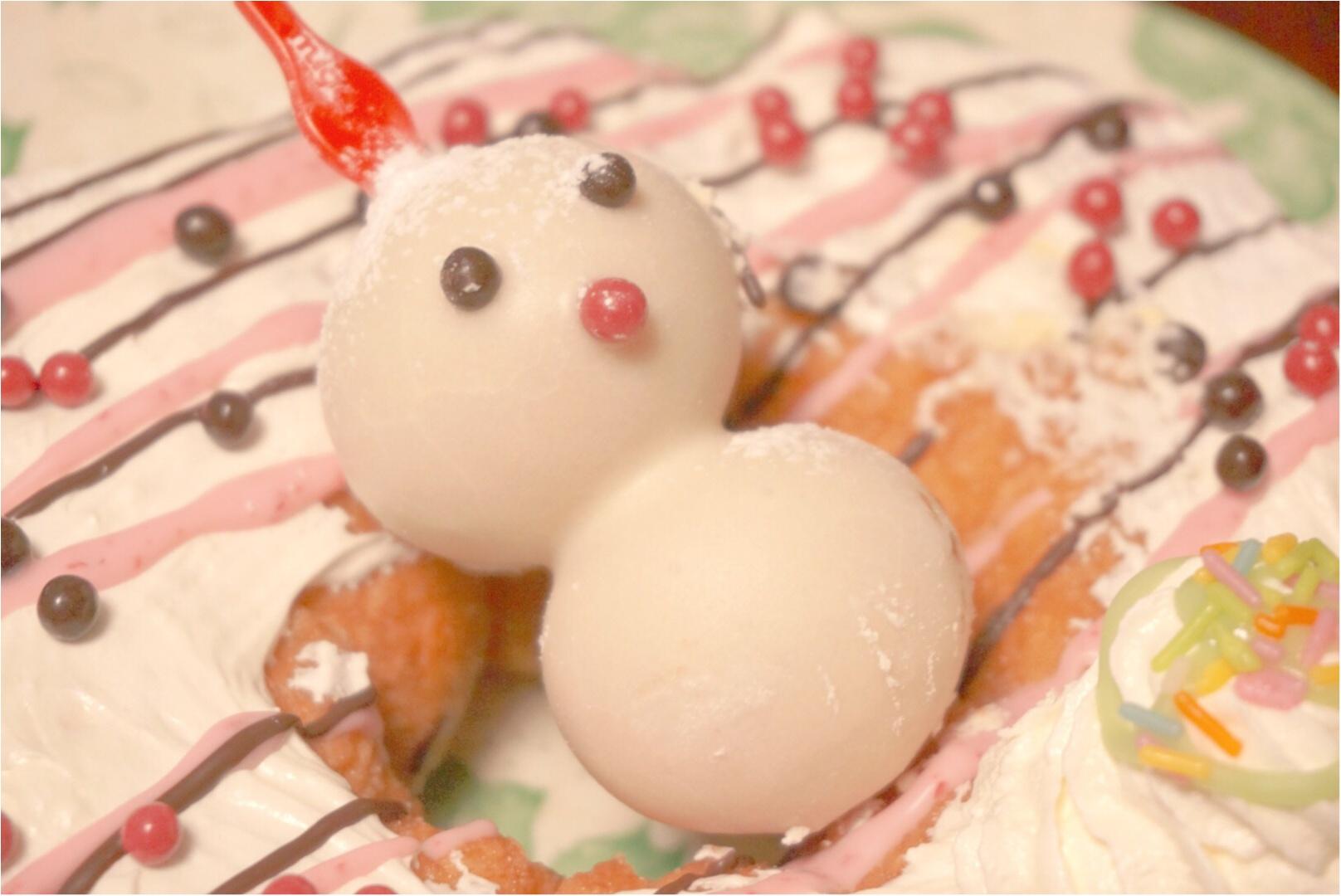 """《ミスドのクリスマス♪》みんなでシェアできる直径18㎝の""""ビッグドーナッツ""""がボリューミーで可愛い♡_6"""