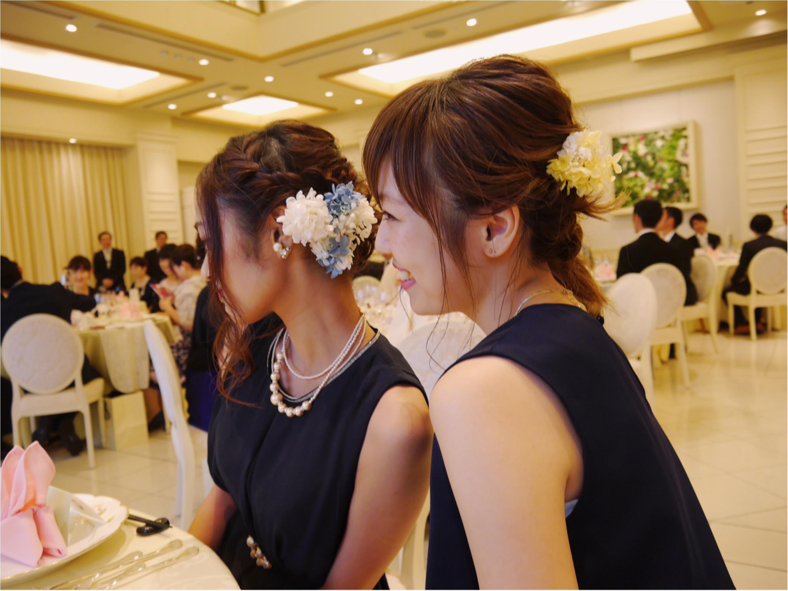 ★《結婚式のお呼ばれヘア》×《お呼ばれドレス》_3