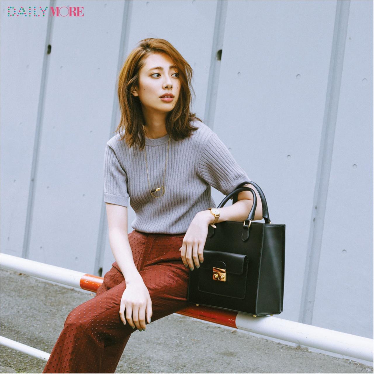 【そのバッグ、イケてないかも!?】スタイリスト辻村真理さんが教えてくれた、持つだけでおしゃれなデイリーバッグって?_1_1