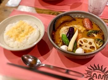 《札幌発の人気店❤️》東京•神田【Curry&Cafe SAMA】の絶品!スープカレー☻
