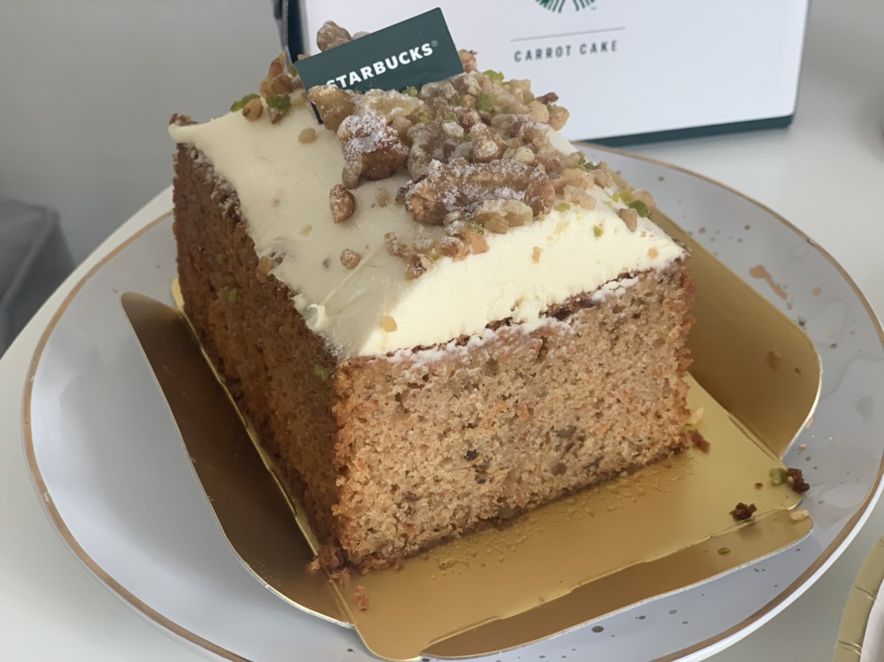 """【スタバ】数量限定!オンラインショップ初のケーキは""""コーヒーの豆かす""""を活用したキャロットケーキ_5"""