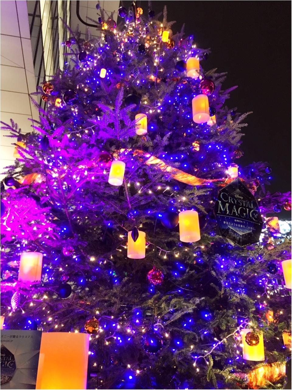 『渋谷ヒカリエ』のクリスマスはディズニープリンセスたちとコラボ♡『ラプンツェル・ツリー』点灯式に行ってきました(﹡´◡`﹡ )♡_6