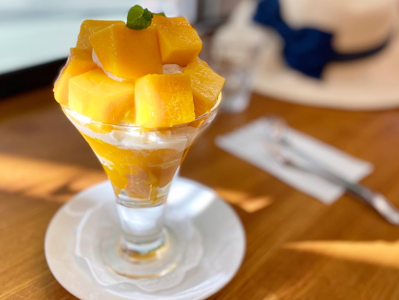 【季節のフルーツパフェ】大好きなフルーツがたくさんのったパフェを堪能_7