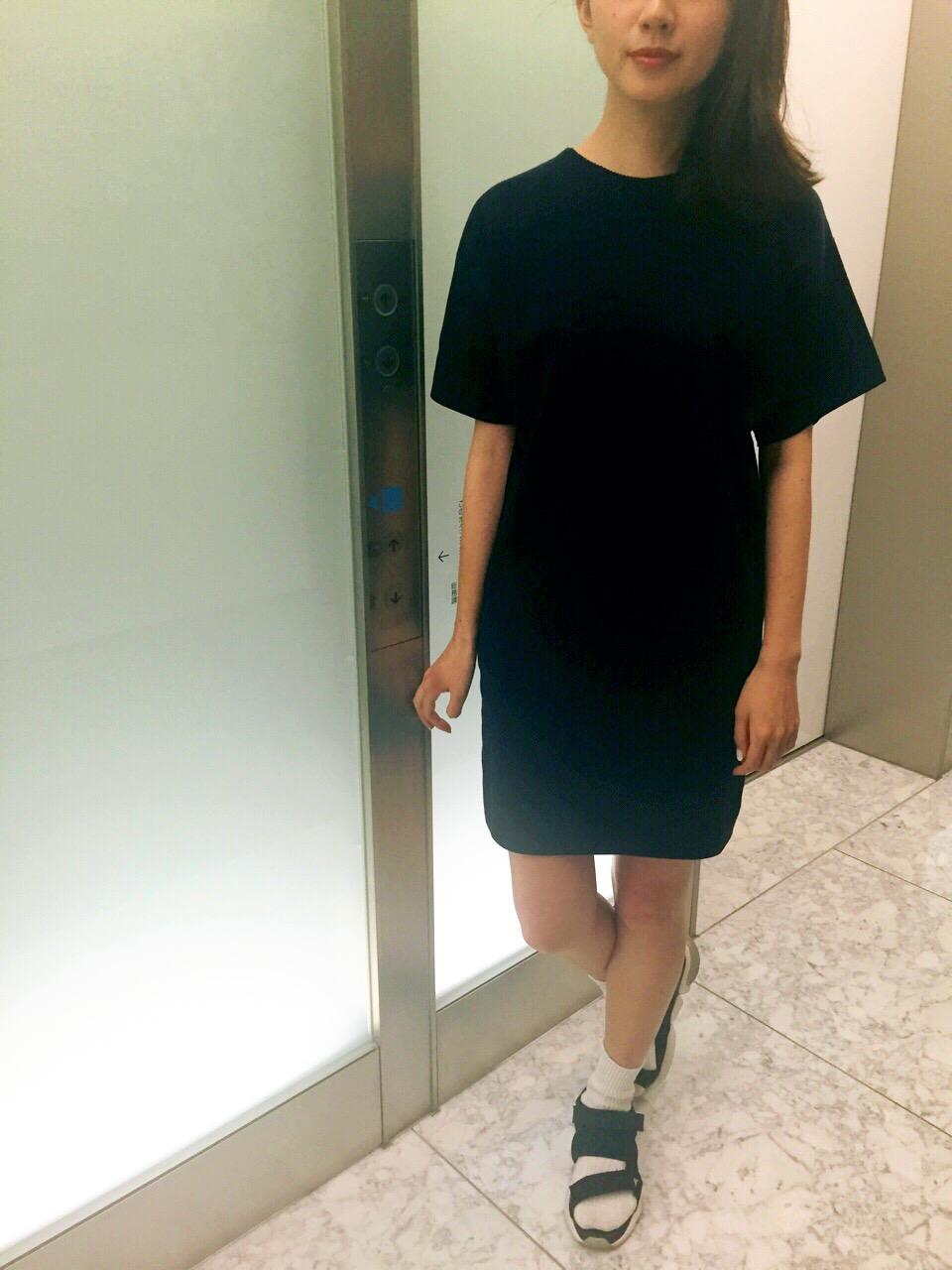【コレ買っちゃいました】HYKEのニットドレス_1