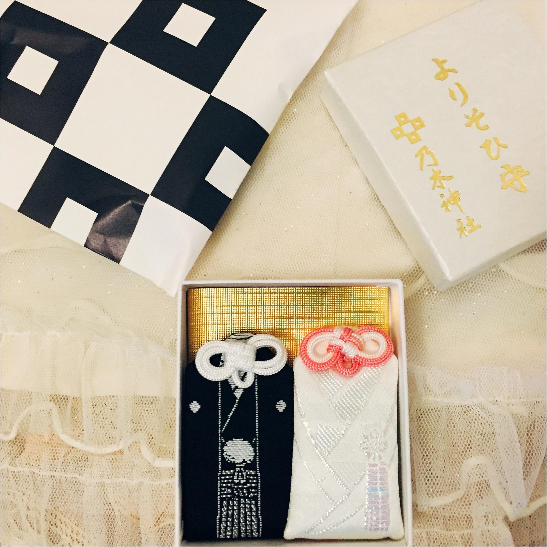 婚約祝い・結婚祝いのプレゼントに♡紋服・白無垢をあしらった『よりそひ守』が可愛すぎる!_1