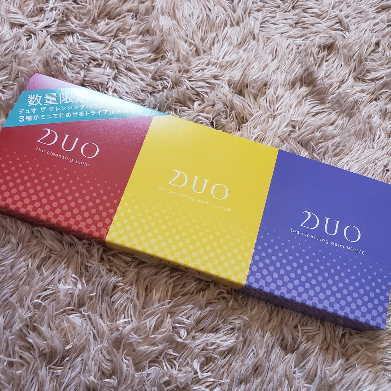 人気【DUO(デュオ)】クレンジングバームのトライアルサイズは今だけ!_2