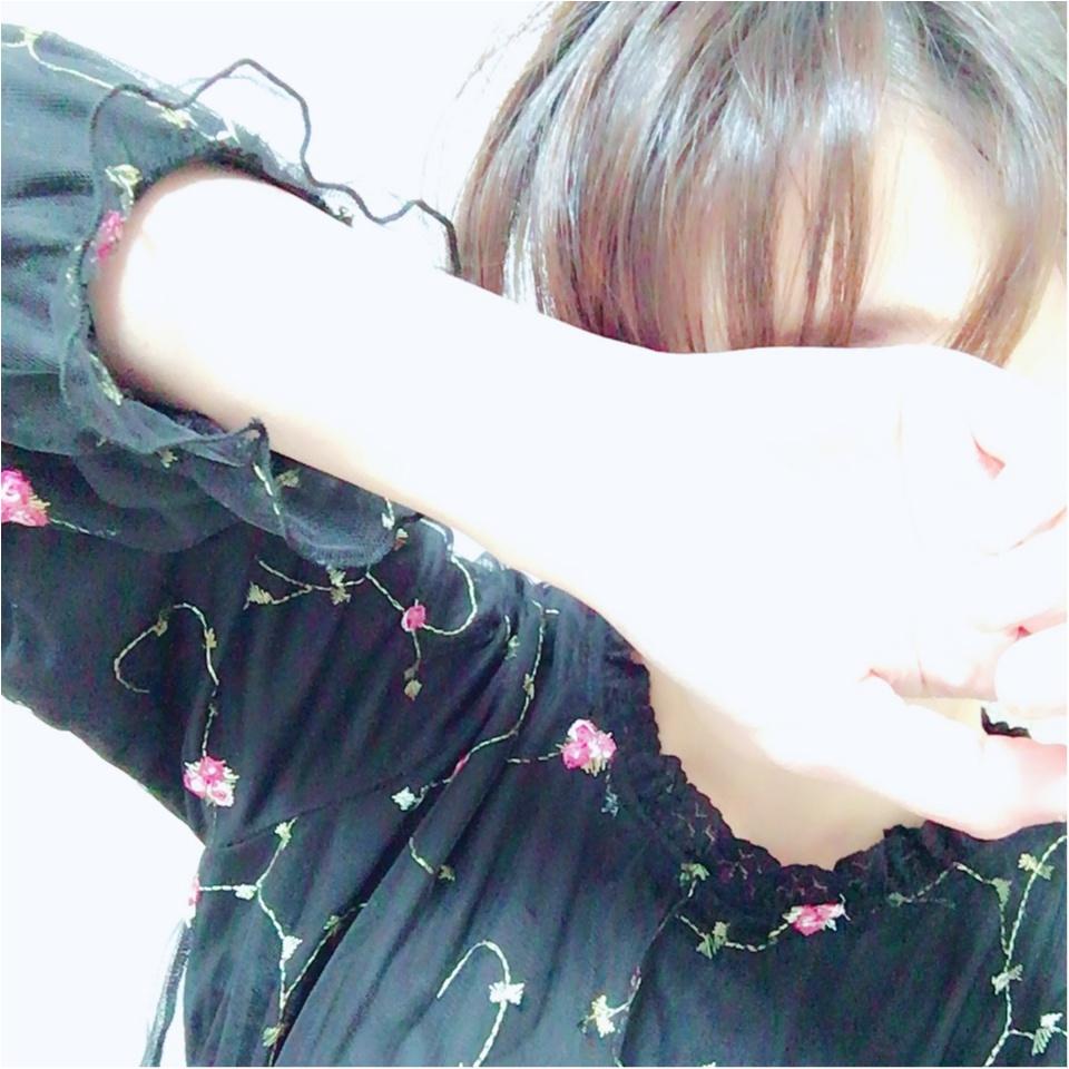 2017年初の【しまむら】アイテムをゲット★高見えなのにプチプラ!な《一目惚れ刺繍ブラウス》❤️_3