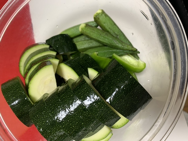 【我が家の定番!夏野菜の揚げ浸し!】市場でお野菜を買ったよ♡_1