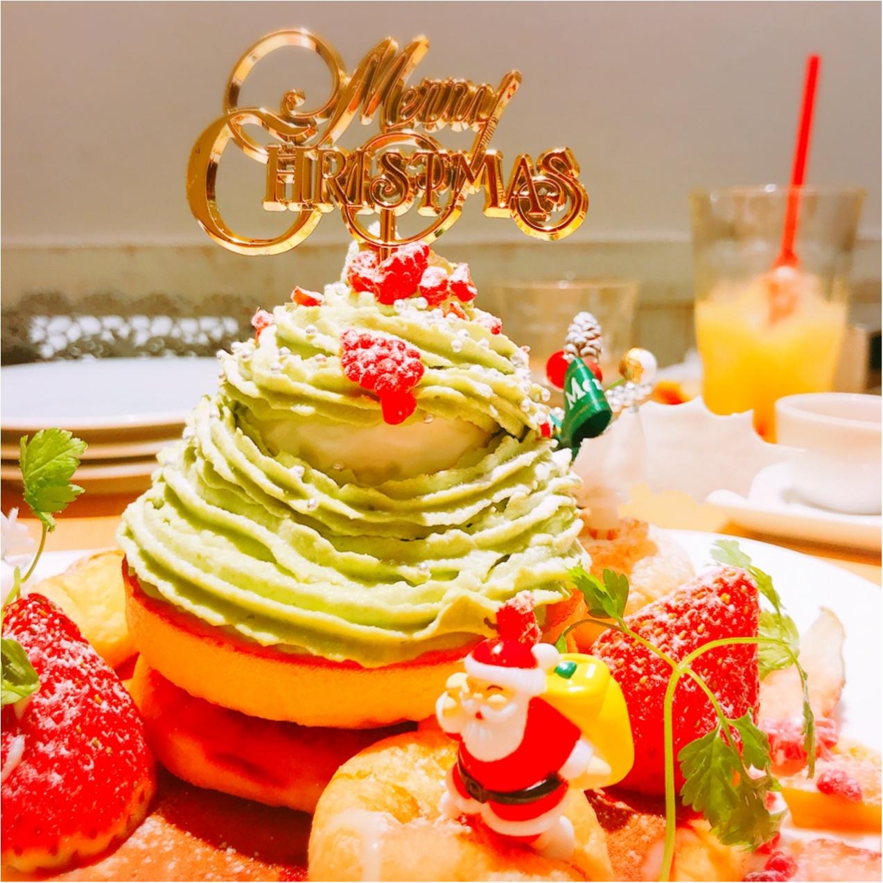 Xmas女子会におすすめ♡【cafe accueil】のフォトジェニックなクリスマスツリーパンケーキ!_5