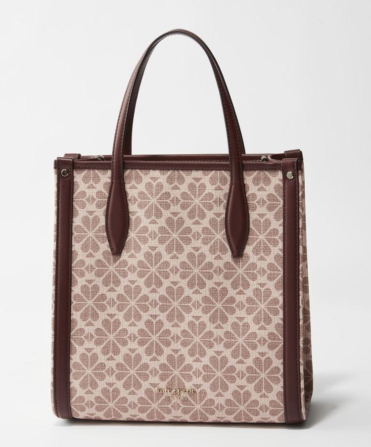 MOREプレゼントのケイトスペードニューヨークのピンクトートバッグ