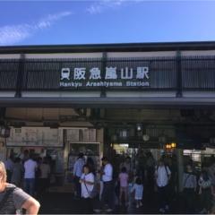 すっかり秋♡京都・嵐山に行こうー!!