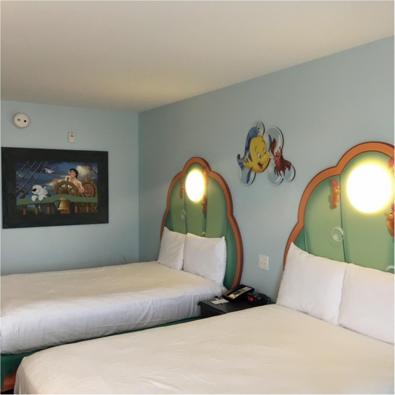【WDW旅行 】夢の国に泊まりたい!キャラクターいっぱいでかわいい♡ディズニーアートオブアニメーションリゾートホテル ♪_6