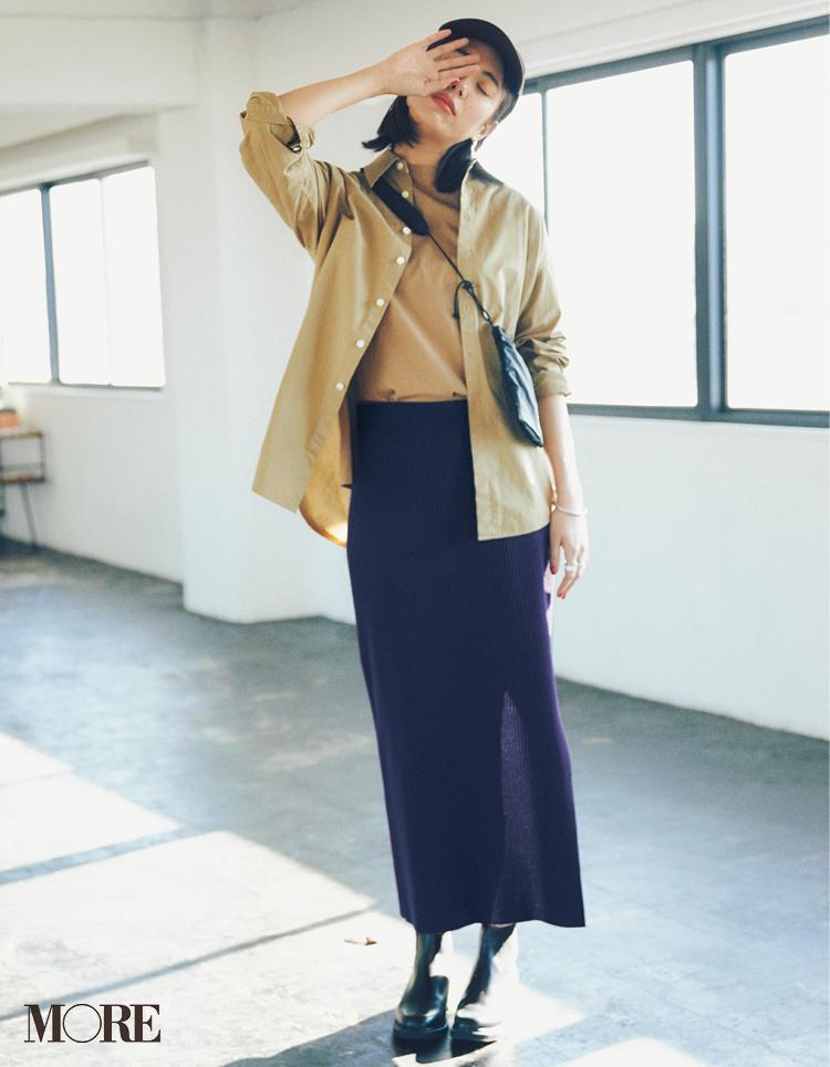 春のシャツコーデ特集《2019年版》- 20代女子におすすめ!オフィスカジュアルにちょうどいい きれいめシャツのコーディネートまとめ_17