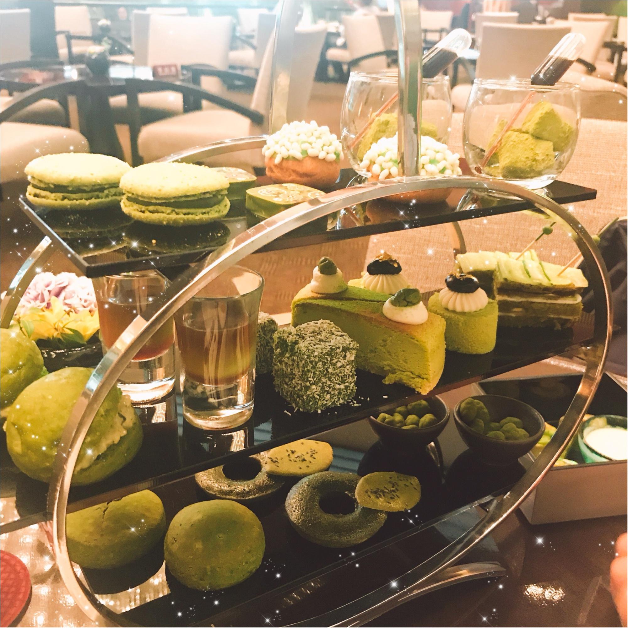 期間限定!抹茶好きにはたまらない、ANAインターコンチネンタルホテル東京の抹茶アフタヌーンティー。_1