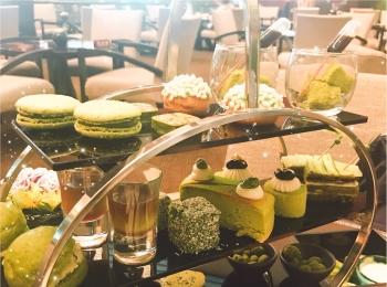 期間限定!抹茶好きにはたまらない、ANAインターコンチネンタルホテル東京の抹茶アフタヌーンティー。
