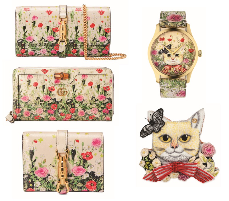 グッチ並木×ヒグチユウコ氏のコラボアイテム、財布や時計