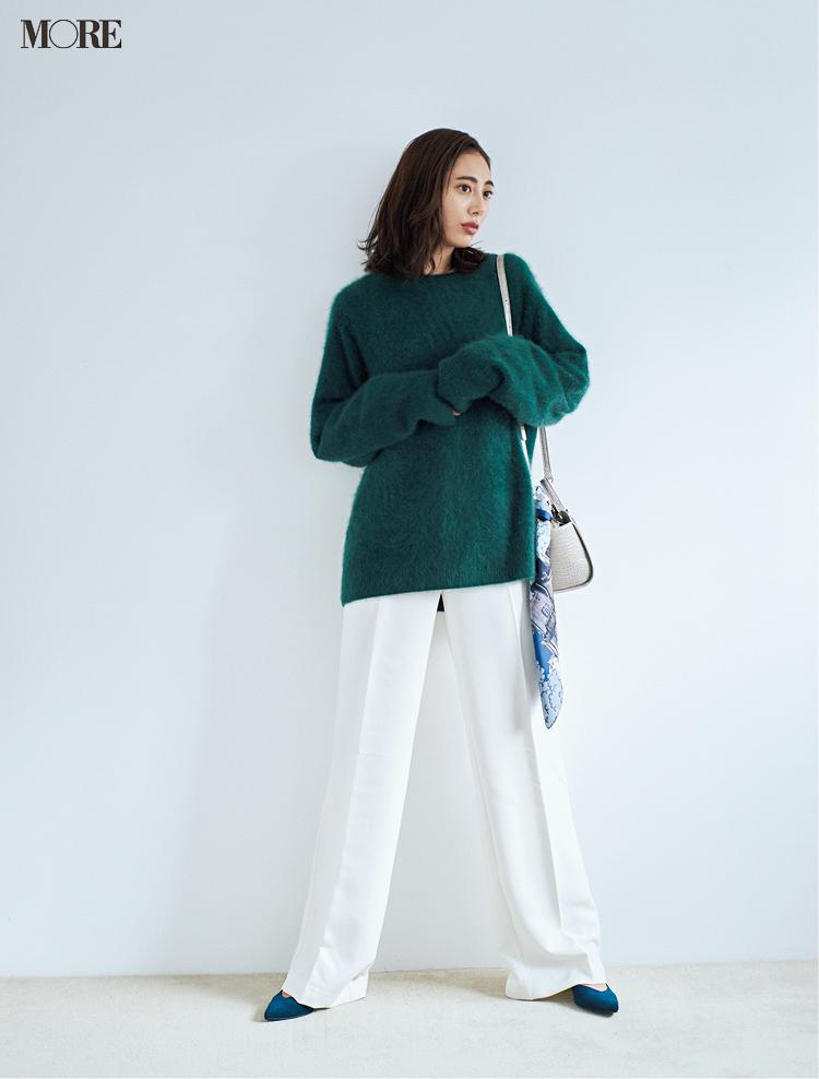 冬の白を誰よりおしゃれに着るために、守るべき配色ルールは「たった1つ」!_2