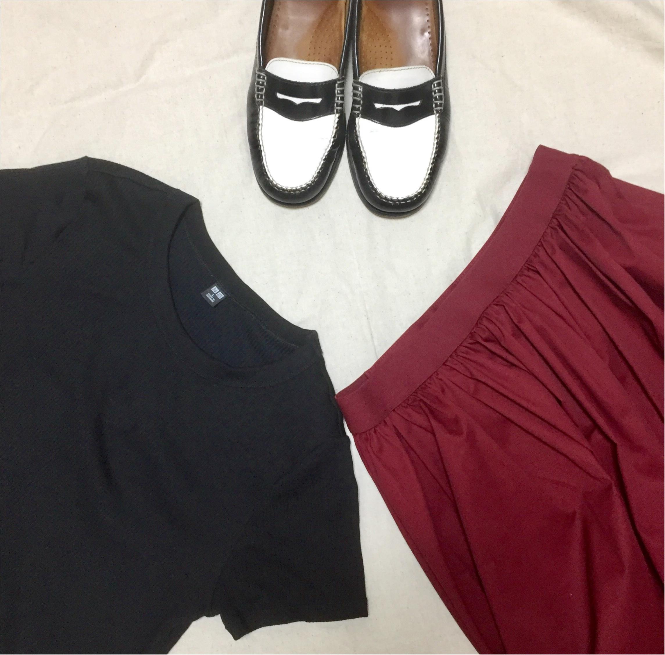 【この夏→秋もUNIQLOが熱い】シンプルなのに可愛い☆ボリュームスカート_5