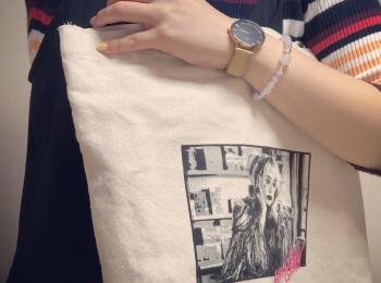 """<プチプラエコバッグ>7/1〜レジ袋有料化に備えて""""ハーレイ・クイン""""のトートバッグを390円でゲット♡"""