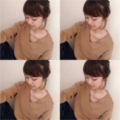 ★【GU】カシミヤタッチVネックニットを使ったHigh&Lowコーデ❣️+ヘアアレンジ!
