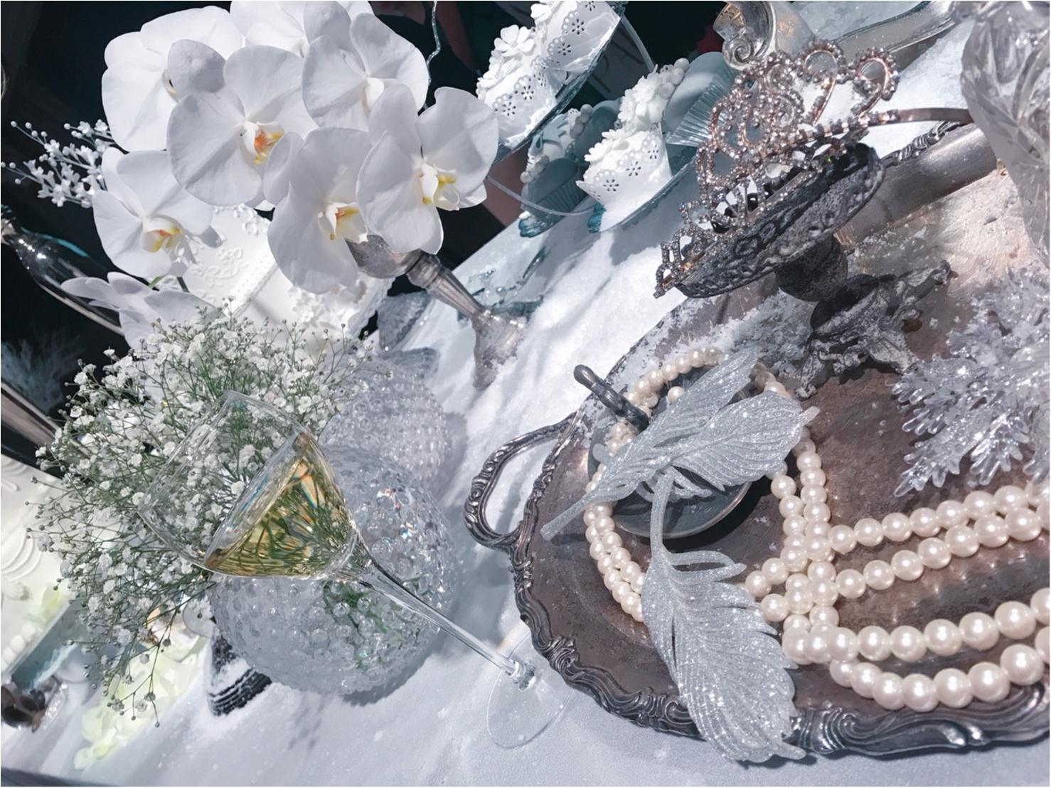 『真っ白な世界が可愛すぎ!』女の子が大好きな物を詰め込んだ palece hotel tokyo の winter wonderland party へ ❤︎_1_3