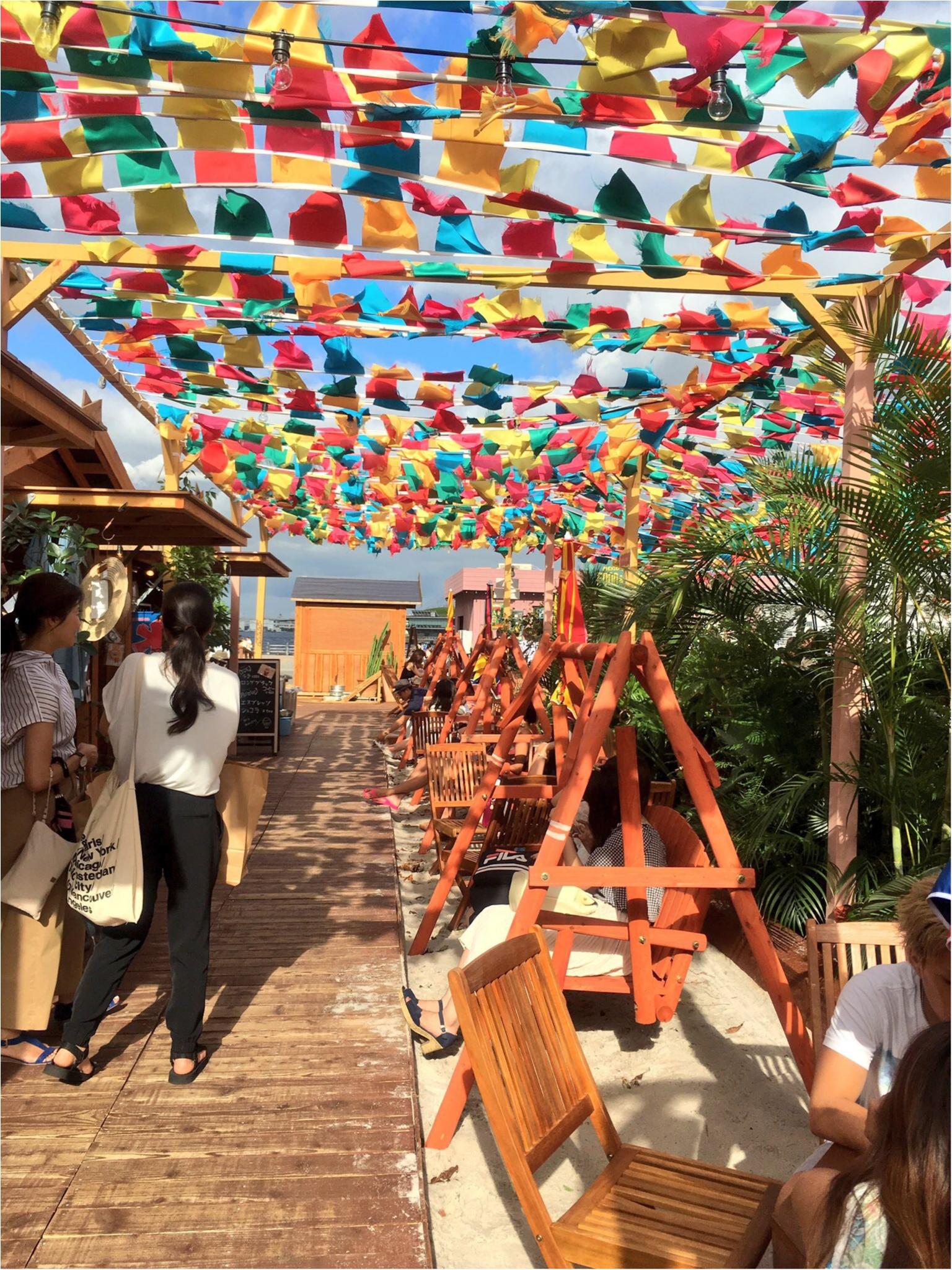 みなとみらい♡赤レンガにアマゾン川が出現…!?見ても楽しい♪食べても楽しい♪『RED BRICK Paradise』の写真たくさんレポ(*´ ˘ `*)!_8