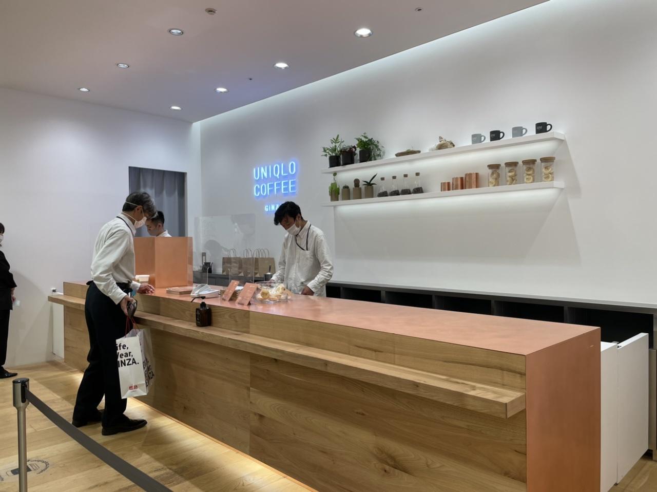 【ユニクロ】銀座のコーヒーブレイクに「ユニクロ」という選択肢を。《UNIQLO COFFEE 》@ユニクロ銀座店_3
