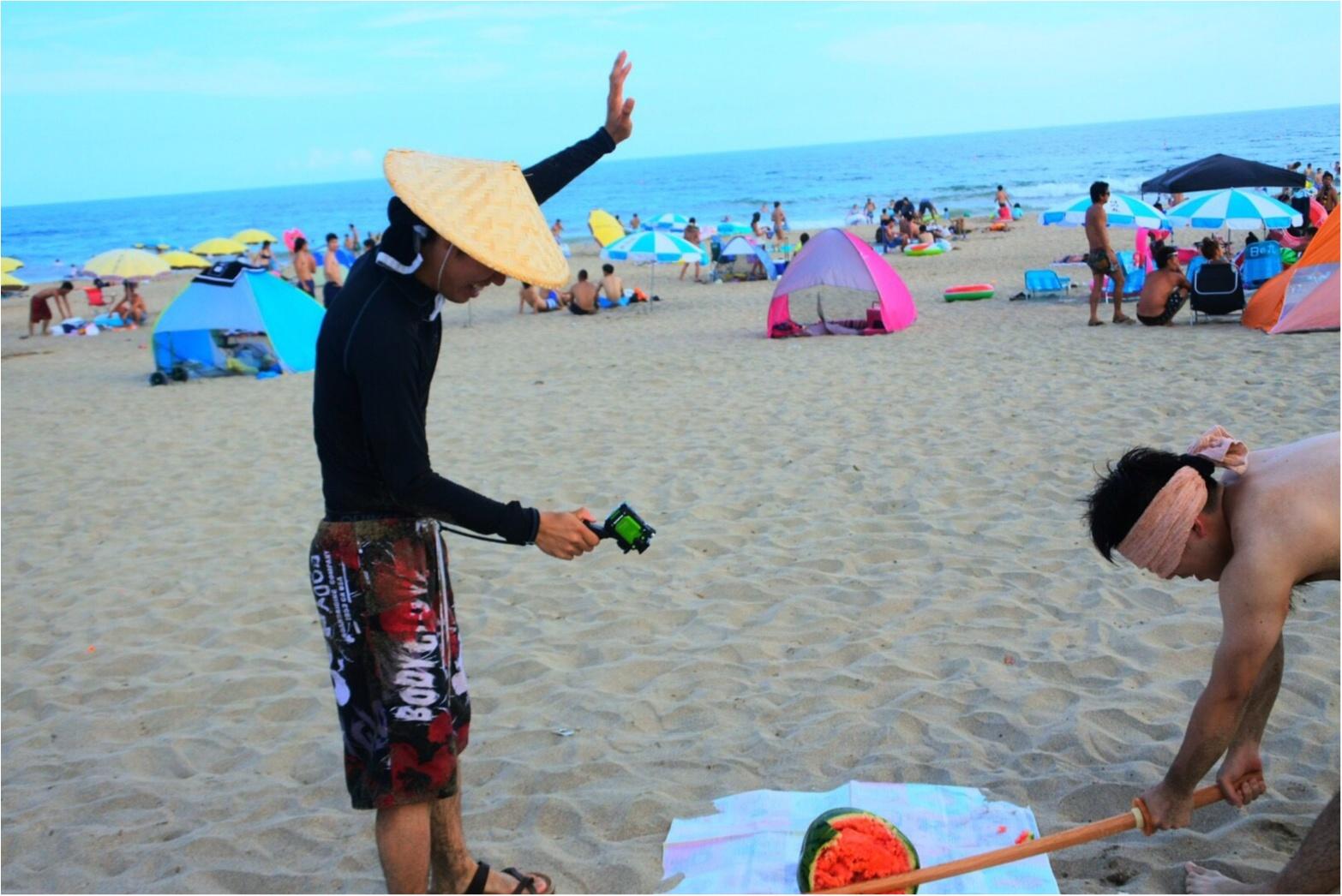 暑い陽射しの海も○○○があれば快適✨あの童謡で有名な【*御宿海岸*】で夏を満喫してきました♪_8