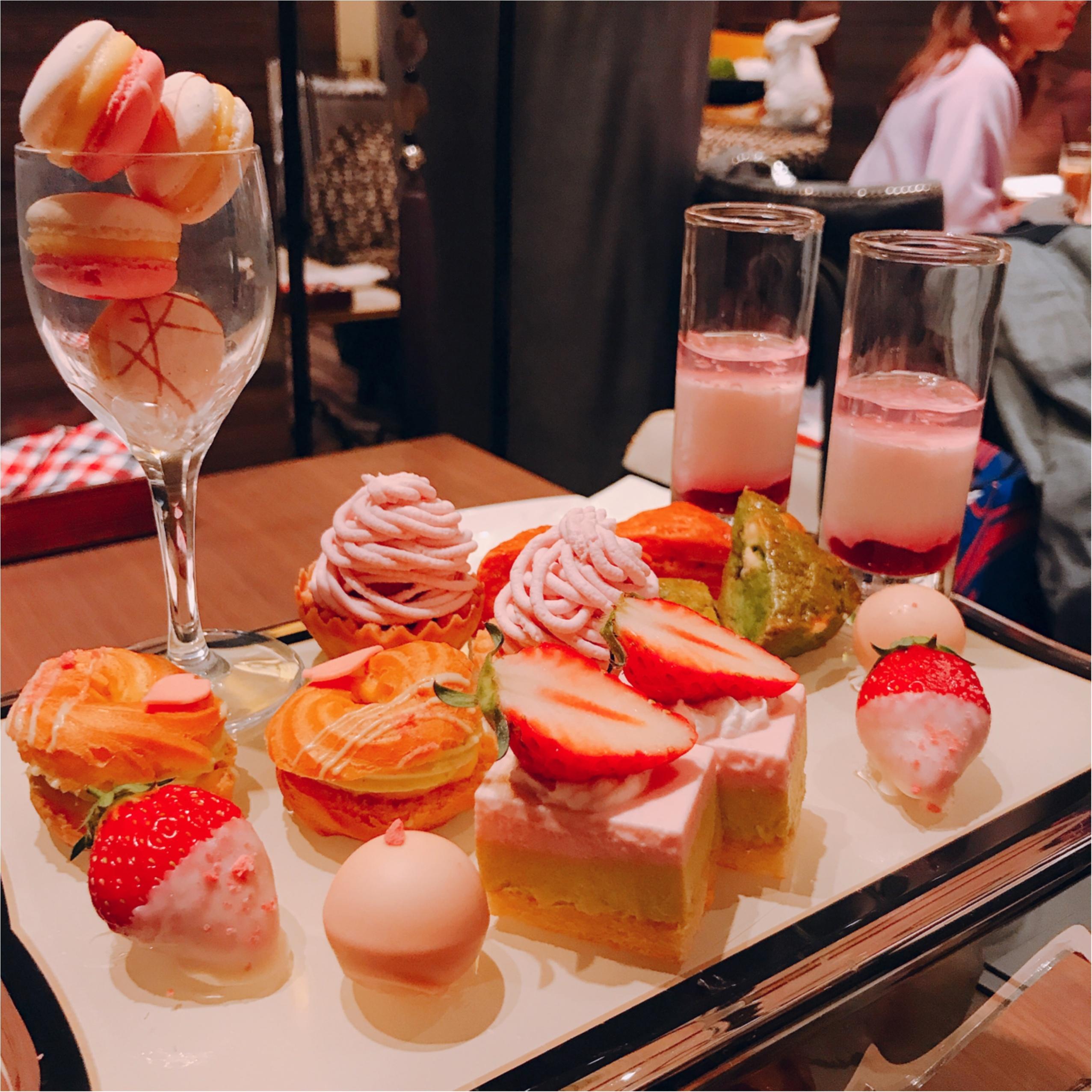 《ザ・ストリングス》の桜×ストロベリーアフタヌーンティーがかわいすぎるっ♡_3