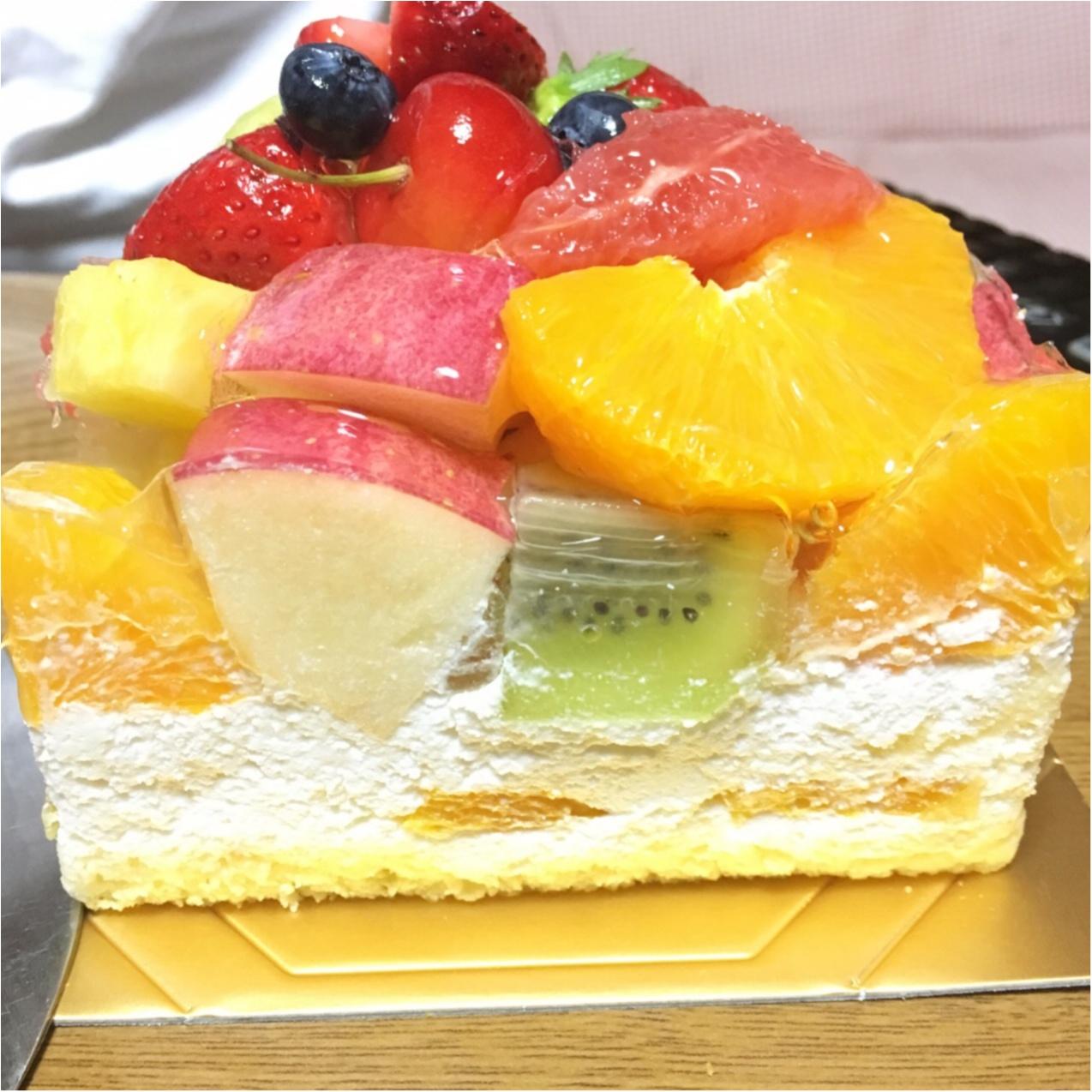 ボリュームがすごい!フルーツたっぷり♡ハナフルのフルーツケーキ_3