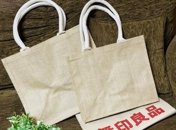 【エコバッグ】使い勝手抜群&驚きのプライス!無印良品《ジュートマイバッグ》が優秀♡