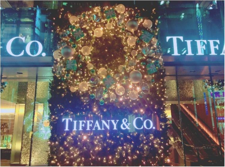 """【♥︎♥︎♥︎】12/25まで! """"さすが…♡!"""" 銀座 Tiffany & Co のクリスマスが可愛すぎる件。 etc…_3"""