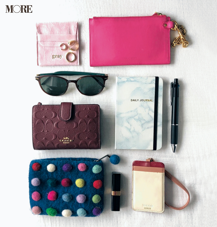 佐藤栞里がひと目惚れしたバッグは……♡ モデルたちのバッグ&バッグの中身大公開☆ photoGallery_1_6