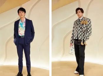新田真剣佑さん、岩田剛典さんら豪華ゲストが『ルイ・ヴィトン』新店オープンをお祝い!