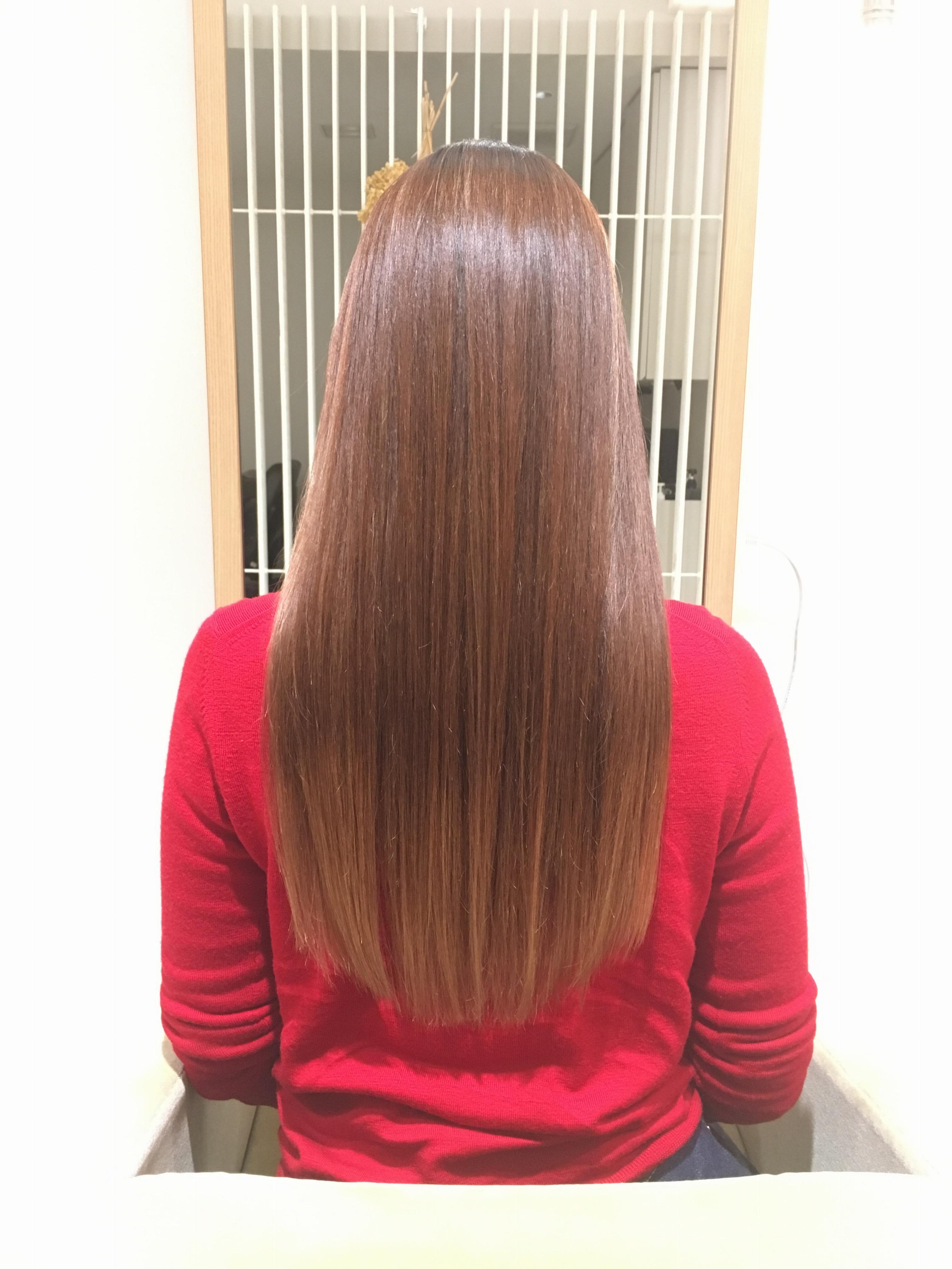 【くせっ毛さんに朗報】髪の毛もストレスフリーに✰ナチュラルが一番!!パーマよりもストレートをすすめる理由_8