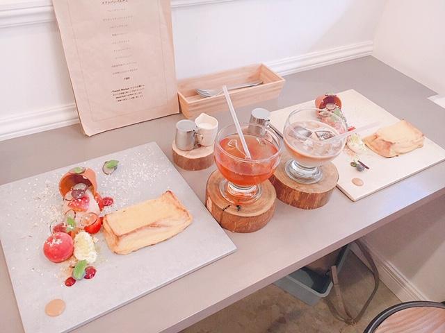 《大阪カフェ》「French Market」のふわふわフレンチトースト♡_5