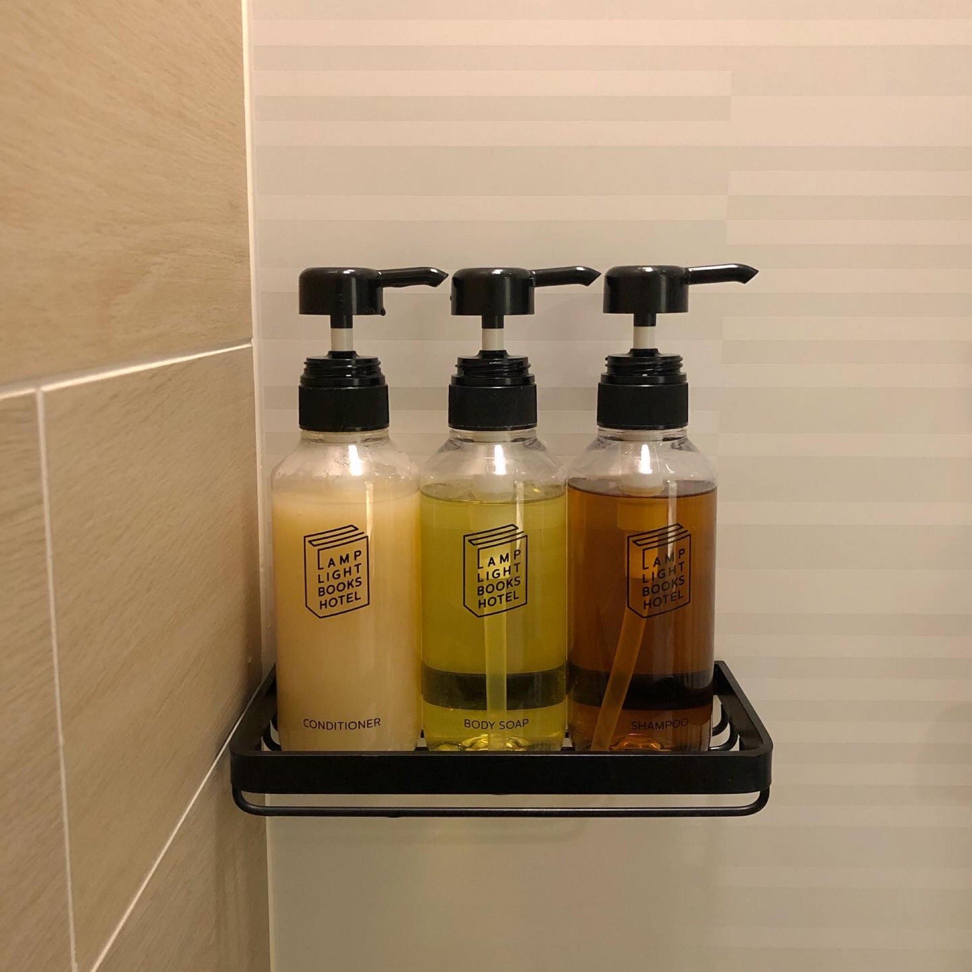 シャワールームアメニティ写真