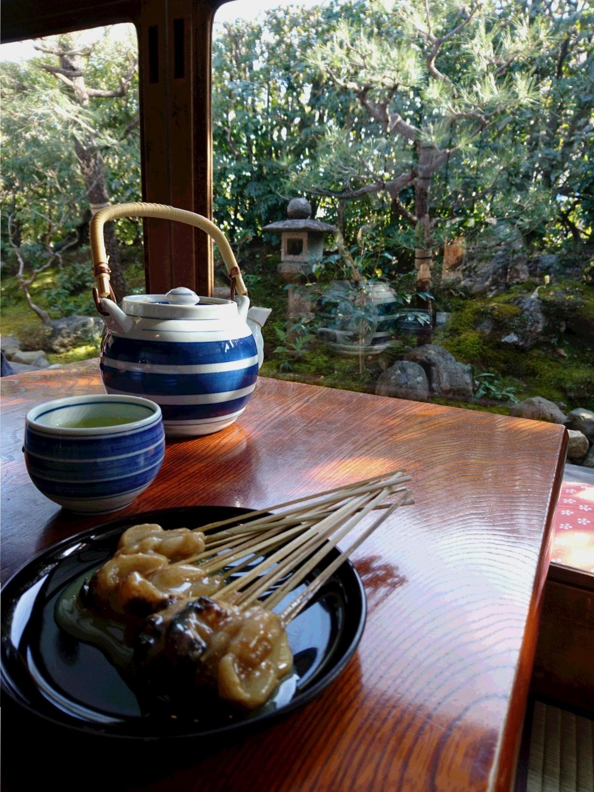 【京都】お座敷でゆったり、、白味噌でいただく「あぶり餅」_1