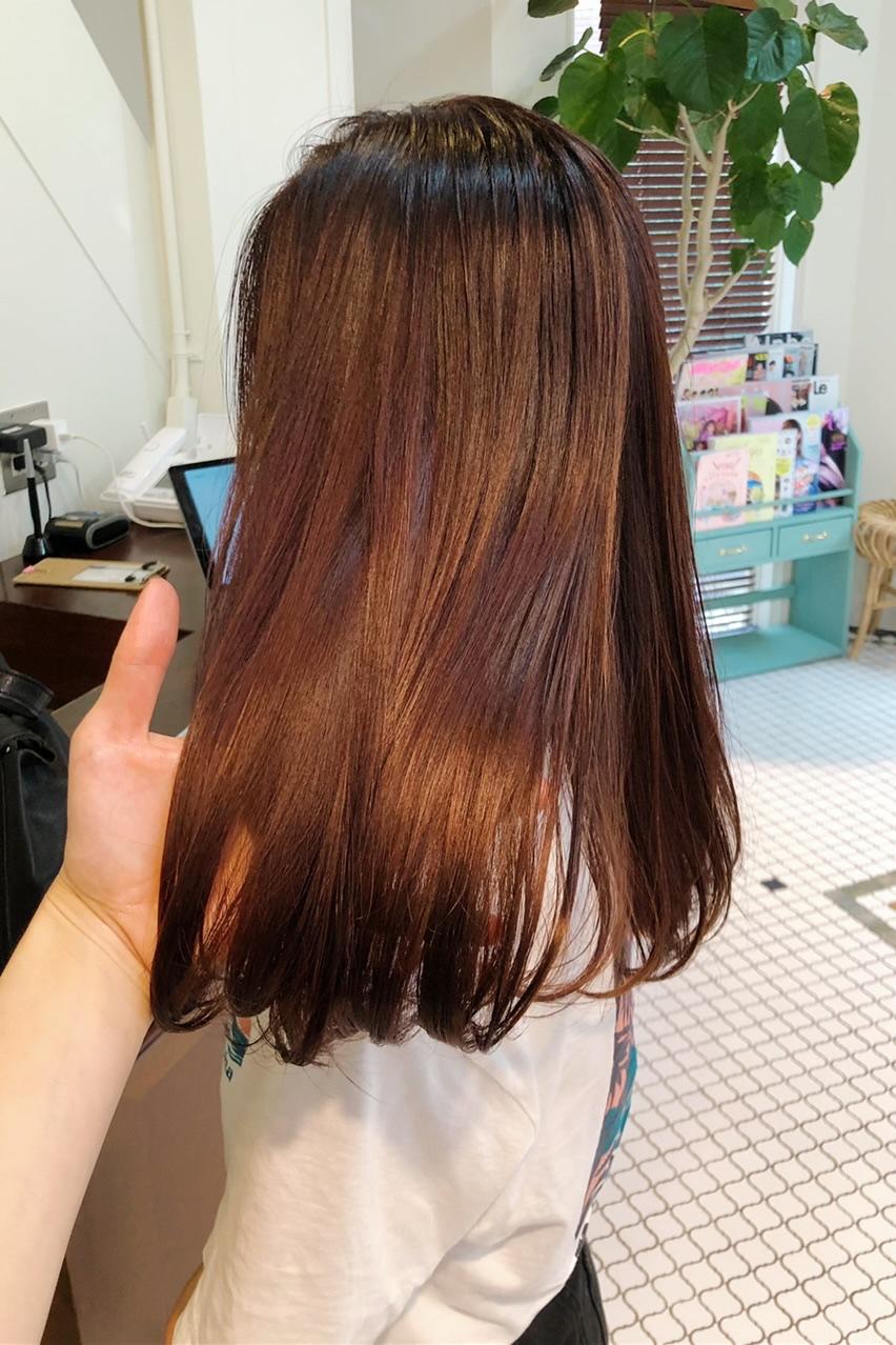 【虹プロ熱冷めず】Newヘアカラーと韓国風前髪やはじめてのコーデ紹介_3