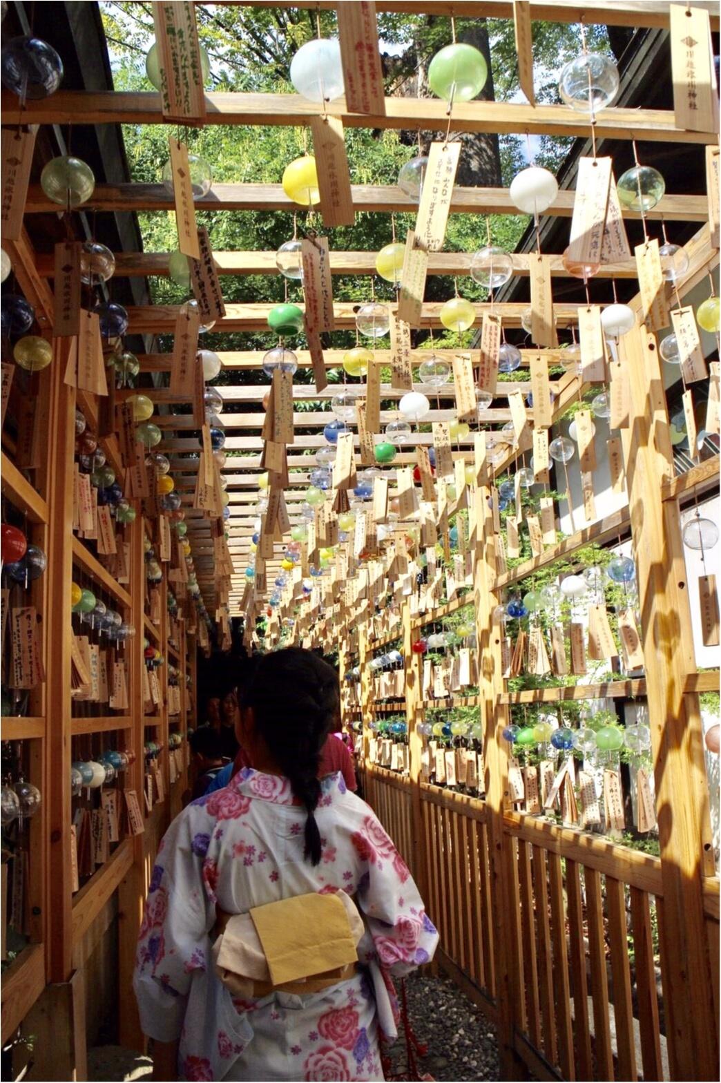 【9/10まで!】フォトジェニックすぎる♡川越氷川神社《縁むすび風鈴》_3