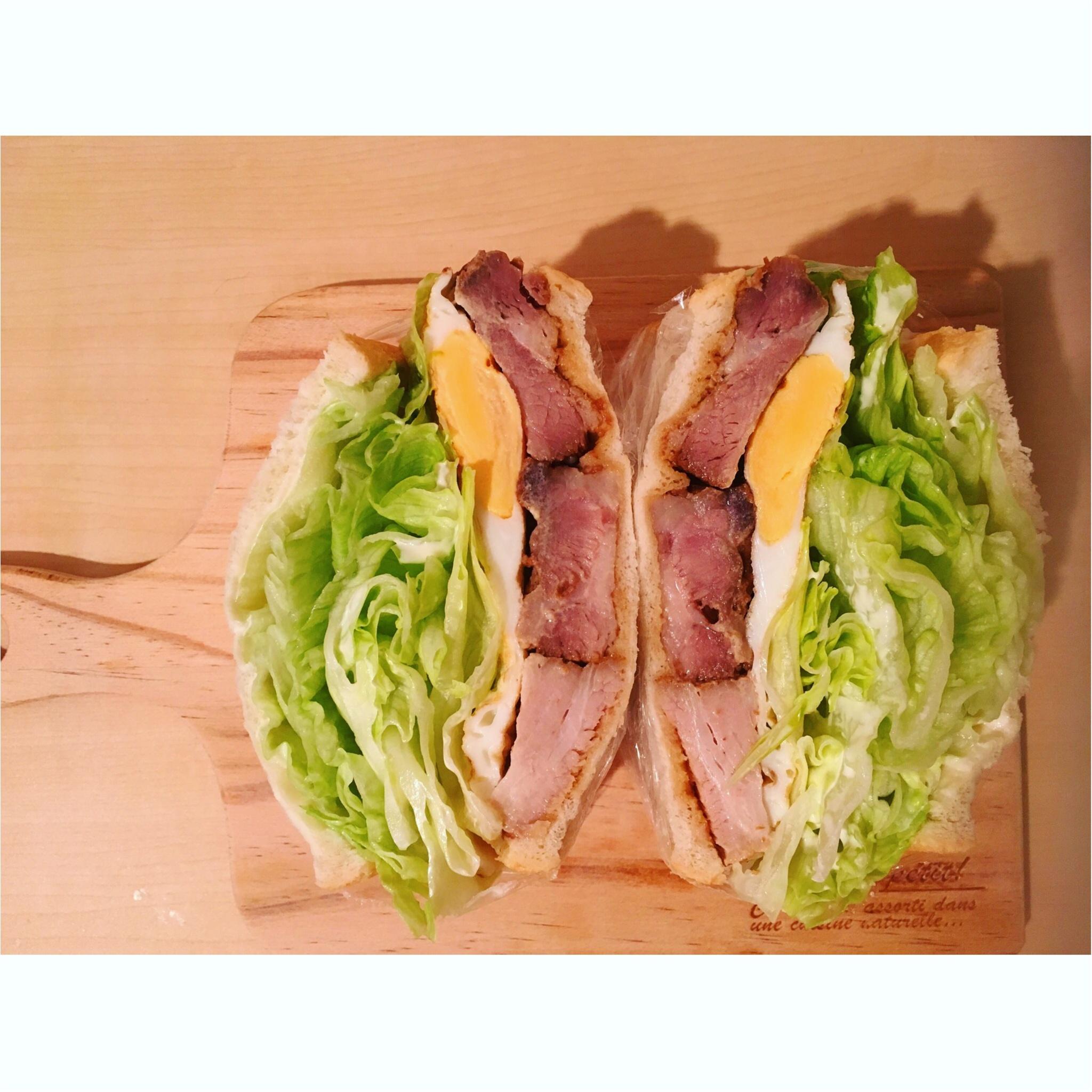 【料理▶朝ごパン☺】#萌え断シリーズ第5弾★オススメはる断サンド_5