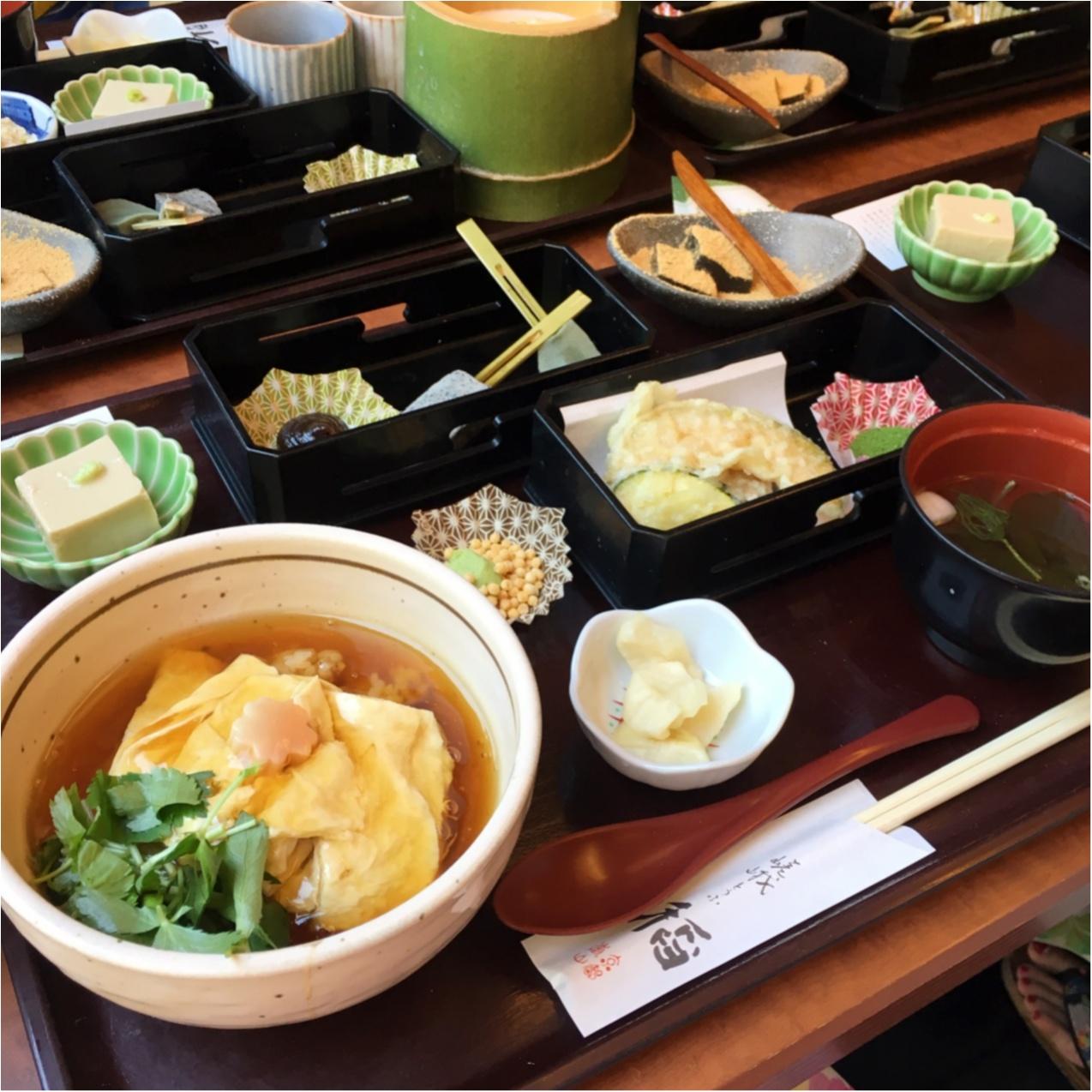 お豆腐好きな女子必見♪ 京都で美味しい豆腐料理が食べられるお店♡_3