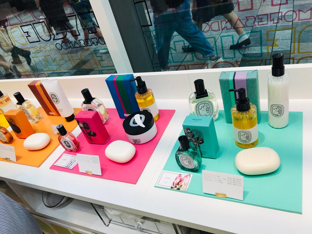 【diptyque】香水サンプル貰える!期間限定ポップアップストアへ行ってきました♡_2