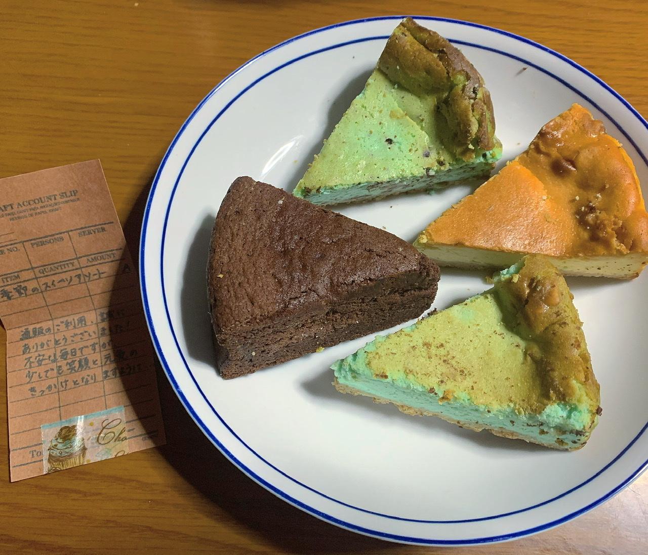 【お取り寄せスイーツ】チョコミン党の聖地と言われる京都『Cafe 1001』のケーキ4種_3