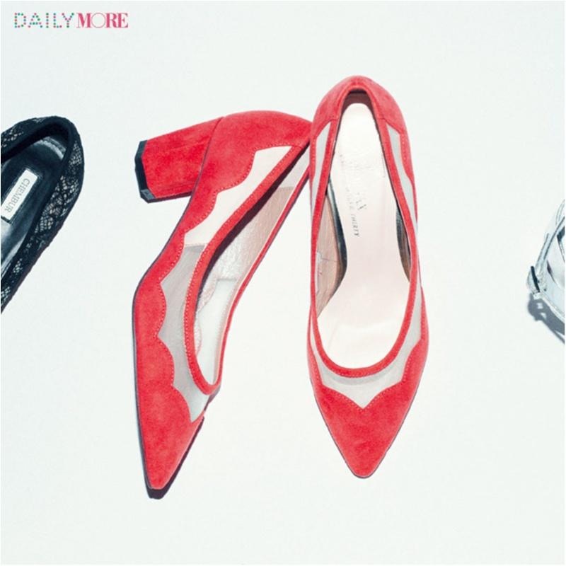 え、まだ新しい靴買ってないの⁉ 足もとにも「女っぽい」マインド、【透ける靴】がはやります!_1_2