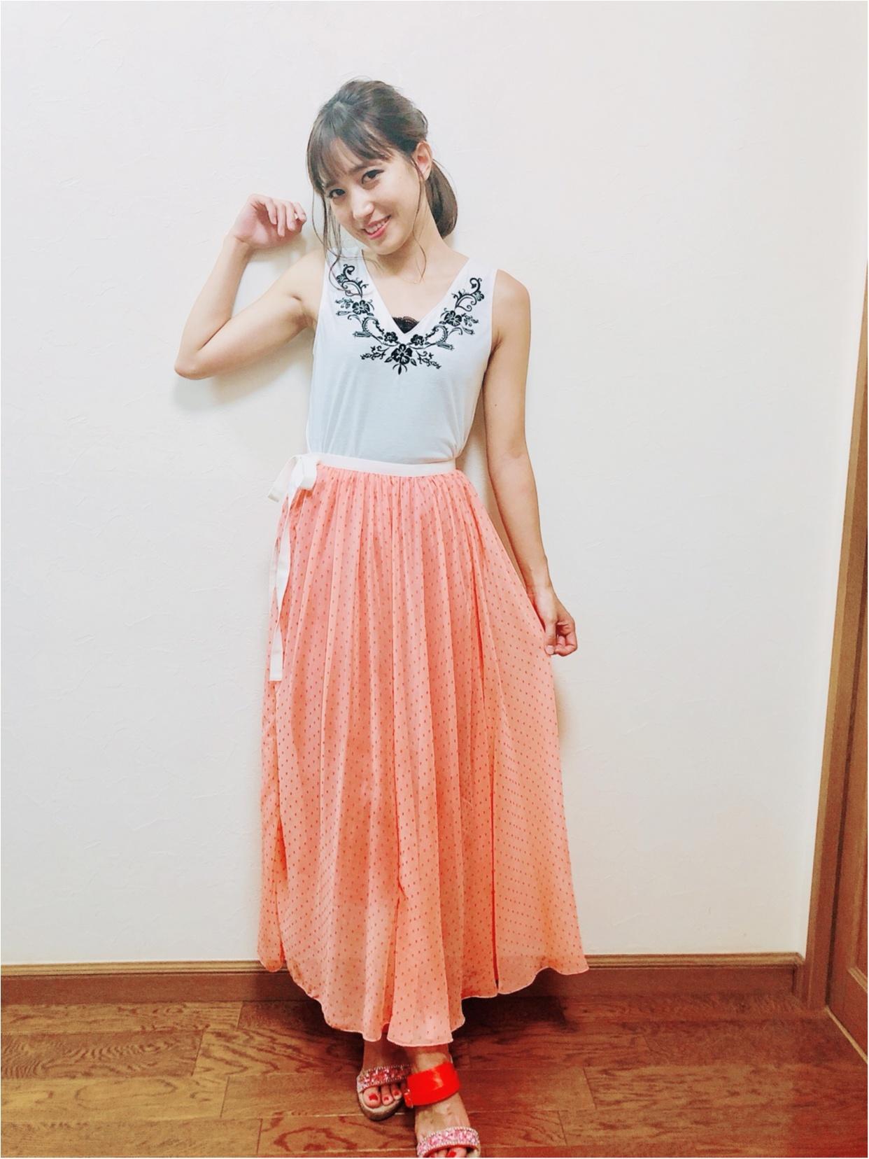 お気に入りスカート♡_1