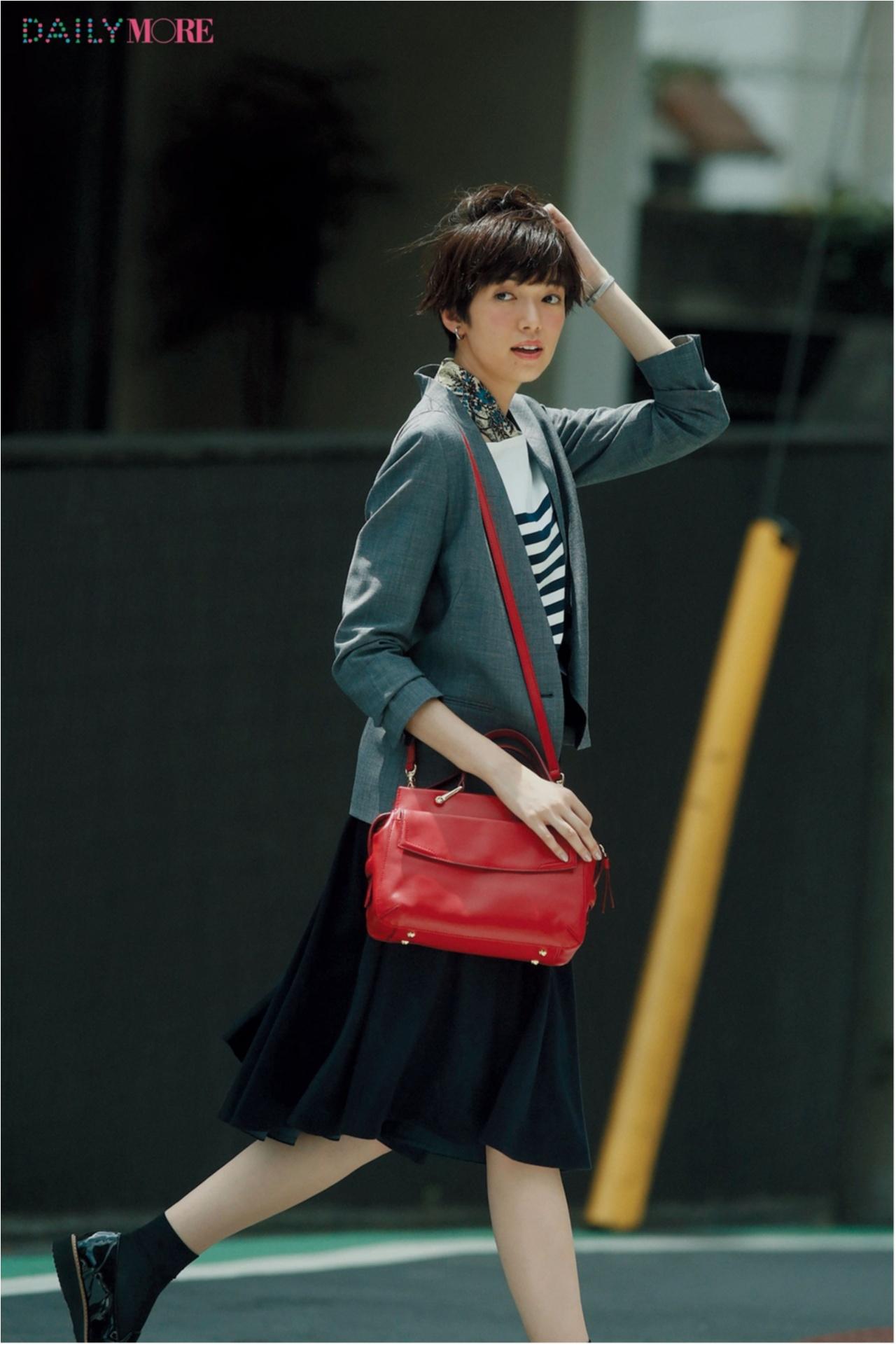 秋コーデを軽やか&華やかに♪ 「フレアスカート」の着こなしまとめ♡_1_8