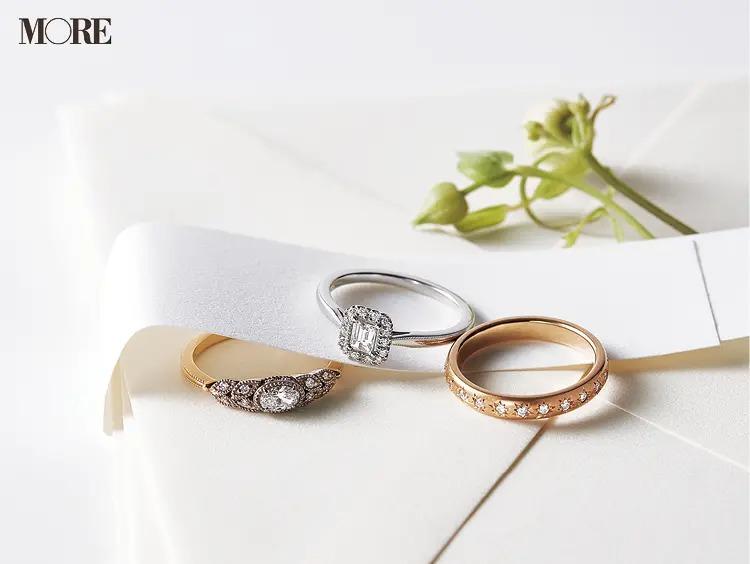 結婚指輪におすすめのアガットのマリッジリングとエンゲージメントリング2種
