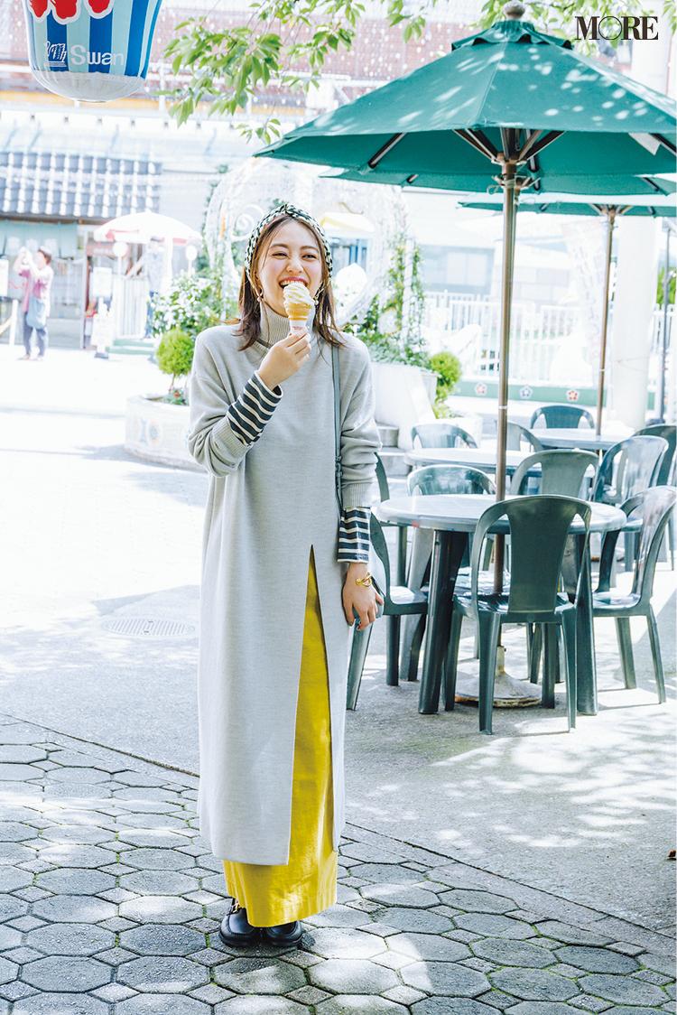 意外!? 黄色のロングタイトスカートがとにかく使える、5つの理由と5つの着回し例!_5