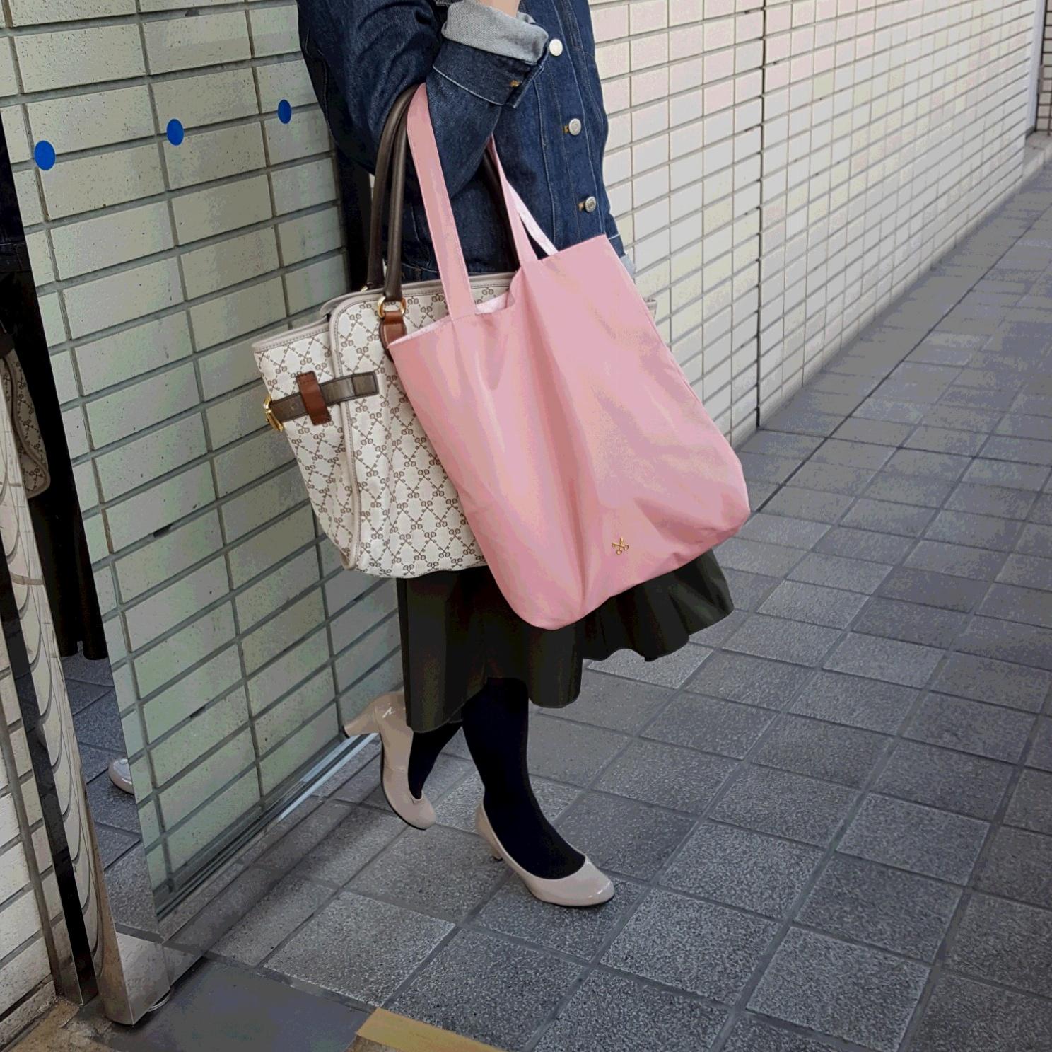 SAZABY リバーシブルトートバッグと出かける春♡_1